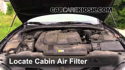 2002 Lincoln LS 3.9L V8 Air Filter (Cabin)