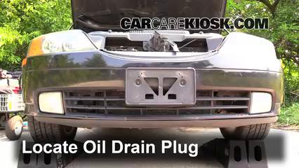 2002 Lincoln LS 3.9L V8 Aceite Cambiar aceite y filtro de aceite