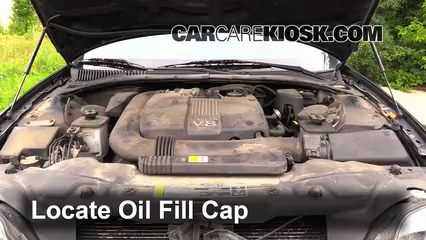 2002 Lincoln LS 3.9L V8 Oil