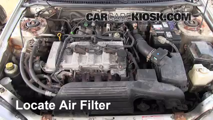 2002 Mazda Protege ES 2.0L 4 Cyl. Air Filter (Engine)