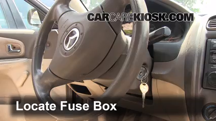 2002 Mazda Protege ES 2.0L 4 Cyl. Fuse (Interior)