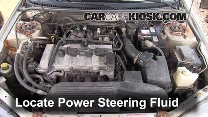 2002 Mazda Protege ES 2.0L 4 Cyl. Power Steering Fluid