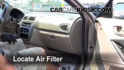 2002 Mitsubishi Galant ES 2.4L 4 Cyl. Air Filter (Cabin)