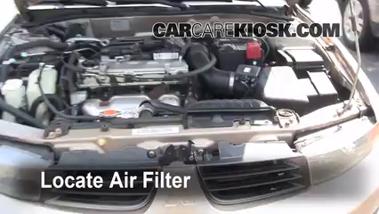 2002 Mitsubishi Galant ES 2.4L 4 Cyl. Air Filter (Engine)
