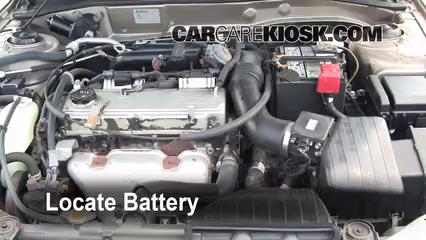 2002 Mitsubishi Galant ES 2.4L 4 Cyl. Battery