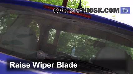 2002 SEAT Ibiza Stella 1.2L 3 Cyl. Windshield Wiper Blade (Rear)