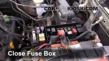 Replace A Fuse 2001 2007 Toyota Sequoia 2002 Toyota Sequoia Sr5 4 7l V8