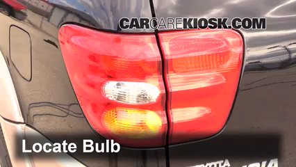 2002 Toyota Sequoia SR5 4.7L V8 Lights