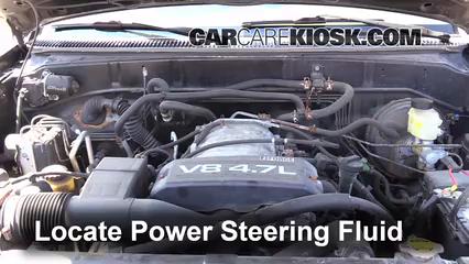 2002 Toyota Sequoia SR5 4.7L V8 Power Steering Fluid