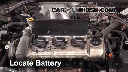 2002 Toyota Solara SLE 3.0L V6 Coupe Battery
