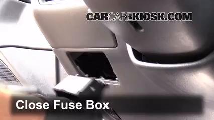 Interior Fuse Box Location 1999 2003 Toyota Solara 2002 Toyota Solara Sle 3 0l V6 Coupe