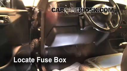 2002 Volkswagen Cabrio GLX 2.0L 4 Cyl. Fuse (Engine)