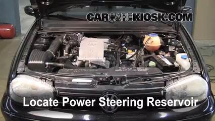 2002 Volkswagen Cabrio GLX 2.0L 4 Cyl. Power Steering Fluid