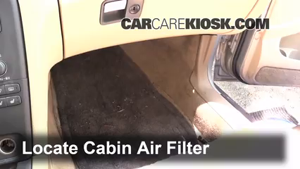 2002 Volvo S80 2.9 2.9L 6 Cyl. Air Filter (Cabin)
