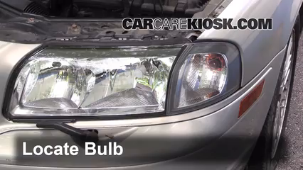 2002 Volvo S80 2.9 2.9L 6 Cyl. Lights Turn Signal - Front (replace bulb)