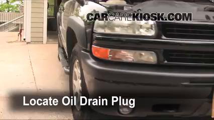 2000 gmc sierra oil change