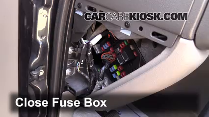 interior fuse box location 2000 2006 chevrolet suburban 1500 2003 Cadillac Escalade Fuse Box