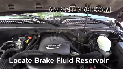 2003 Chevrolet Suburban 1500 LT 5.3L V8 Brake Fluid