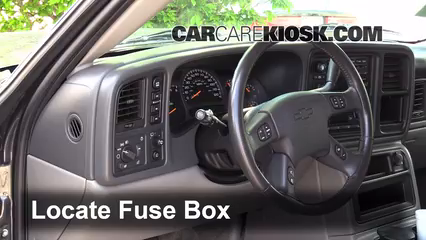 interior fuse box location 2000 2006 chevrolet tahoe 2003 rh carcarekiosk com 2004 tahoe fuse box diagram