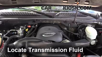 2001 chevy silverado 1500 transmission fluid