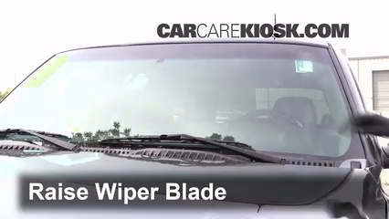 2003 Chevrolet Tahoe LS 5.3L V8 Windshield Wiper Blade (Front)