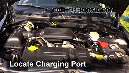 How to Add Refrigerant to a 1997-2004 Dodge Dakota - 2001 Dodge