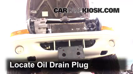 2003 Dodge Dakota SLT 4.7L V8 Crew Cab Pickup (4 Door) Oil Change Oil and Oil Filter