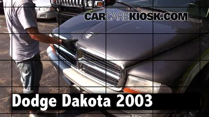 2003 Dodge Dakota SLT 4.7L V8 Crew Cab Pickup (4 Door) Review