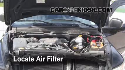 2003 Dodge Ram 2500 5.7L V8 Crew Cab Pickup (4 Door) Air Filter