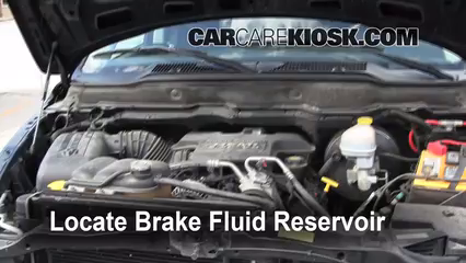 2003 Dodge Ram 2500 5.7L V8 Crew Cab Pickup (4 Door) Brake Fluid