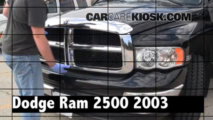 2003 Dodge Ram 2500 5.7L V8 Crew Cab Pickup (4 Door) Review