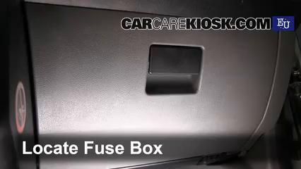 Interior Fuse Box Location: 2002-2008 Ford Fiesta - 2003 Ford Fiesta TDCi  1.4L 4 Cyl. Turbo DieselCarCareKiosk