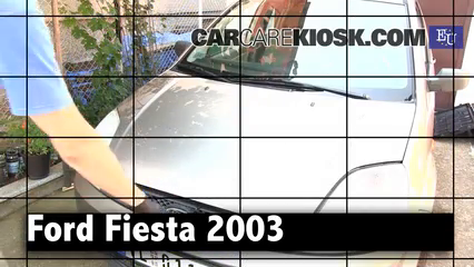 2003 Ford Fiesta TDCi 1.4L 4 Cyl. Turbo Diesel Review