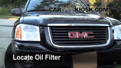 Oil Filter Change Gmc Envoy 2002 2009 2006 Gmc Envoy Slt 4 2