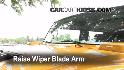 2003 hummer h2 6 0l v8 windshield wiper blade (front) replace wiper blades