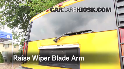 2003 Hummer H2 6.0L V8 Windshield Wiper Blade (Rear)