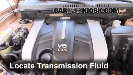 add transmission fluid: 2001-2006 hyundai santa fe