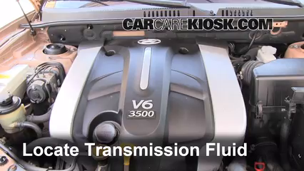 Transmission Fluid Leak Fix 2001 2006 Hyundai Santa Fe 2003