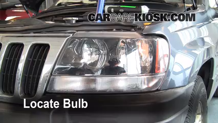 Headlight Change 1999 2004 Jeep Grand Cherokee