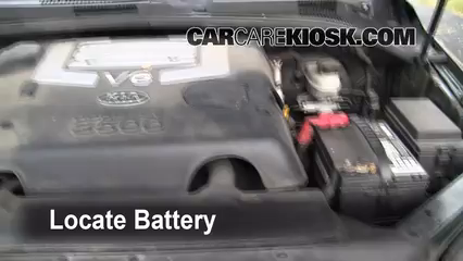 2003 Kia Sorento EX 3.5L V6 Battery Jumpstart