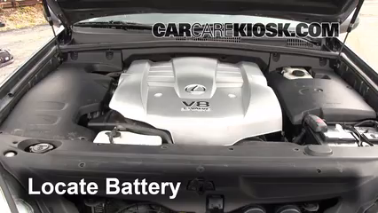 2003 Lexus GX470 4.7L V8 Battery Clean Battery & Terminals