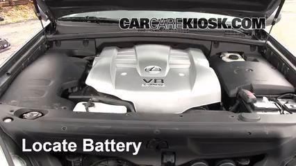 Battery Replacement 2003 2009 Lexus Gx470 2003 Lexus Gx470 4 7l V8