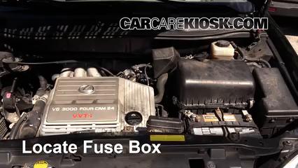 Blown Fuse Check 1999-2003 Lexus RX300 - 2002 Lexus RX300