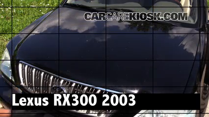 2003 Lexus RX300 3.0L V6 Review