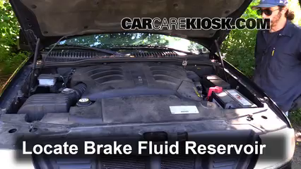 2003 Lincoln Aviator 4.6L V8 Brake Fluid