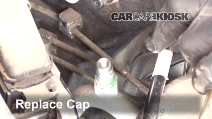How to Add Refrigerant to a 2001-2007 Mercedes-Benz C230 - 2005