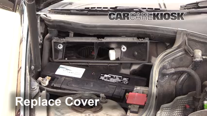Battery Replacement: 2001-2007 Mercedes-Benz C230 - 2005 Mercedes