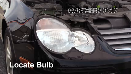 Headlight Change 2001-2007 Mercedes-Benz C230 - 2003