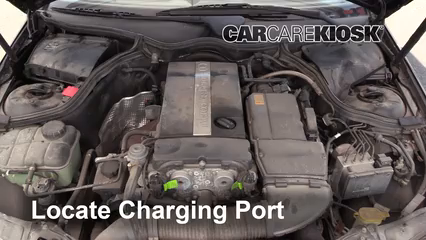 How to Add Refrigerant to a 2001-2007 Mercedes-Benz C230
