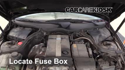 [DIAGRAM_38IU]  Blown Fuse Check 2001-2007 Mercedes-Benz C230 - 2003 Mercedes-Benz C230  Kompressor 1.8L 4 Cyl. Supercharged Coupe (2 Door) | Mercedes Benz C230 Kompressor Fuse Box |  | CarCareKiosk
